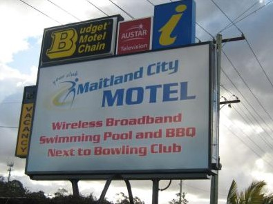 Maitland City Motel - St Kilda Accommodation