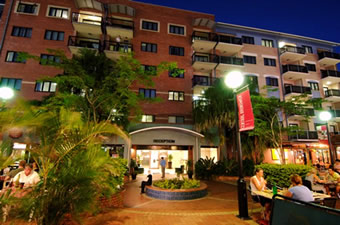 Central Brunswick Apartment Hotel - St Kilda Accommodation