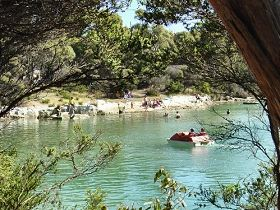 Crayfish Creek Van and Cabin Park and Spa House - St Kilda Accommodation