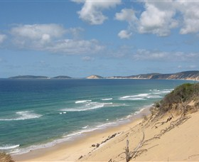 Rainbow Beach Hire-a-camp - St Kilda Accommodation