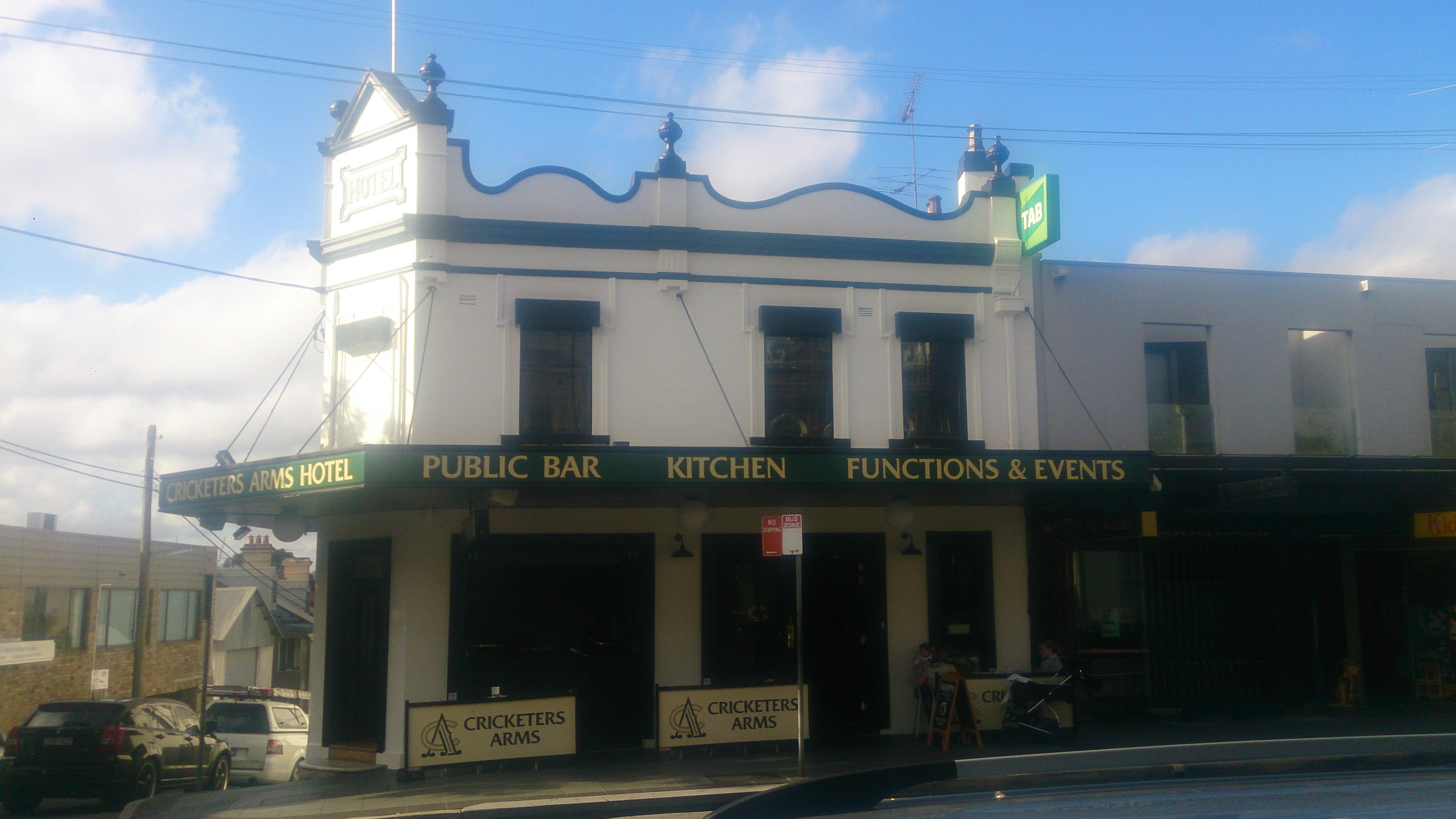 Cricketers Arms Hotel - St Kilda Accommodation