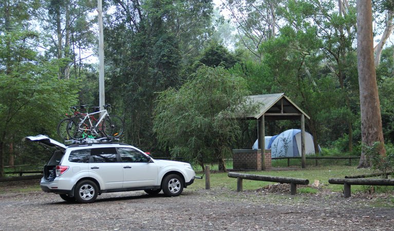 Mill Creek campground - St Kilda Accommodation