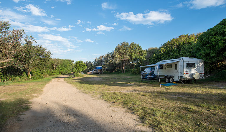 Racecourse Campground - St Kilda Accommodation