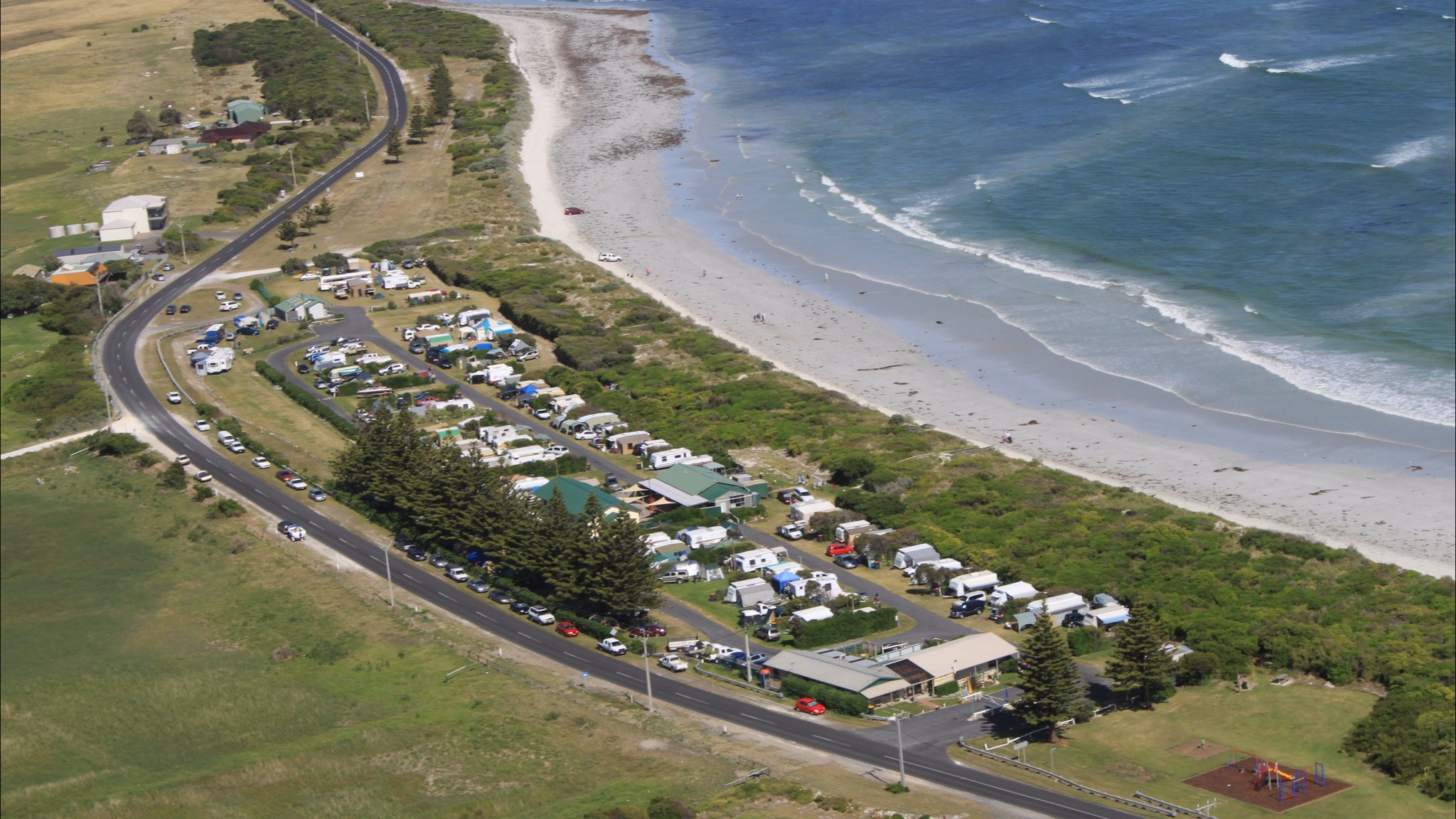 Port MacDonnell Foreshore Tourist Park - St Kilda Accommodation