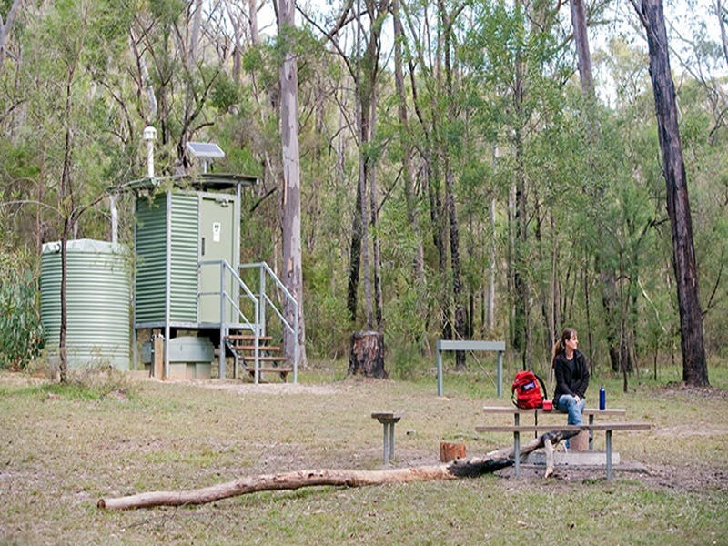Ten Mile Hollow campground - St Kilda Accommodation
