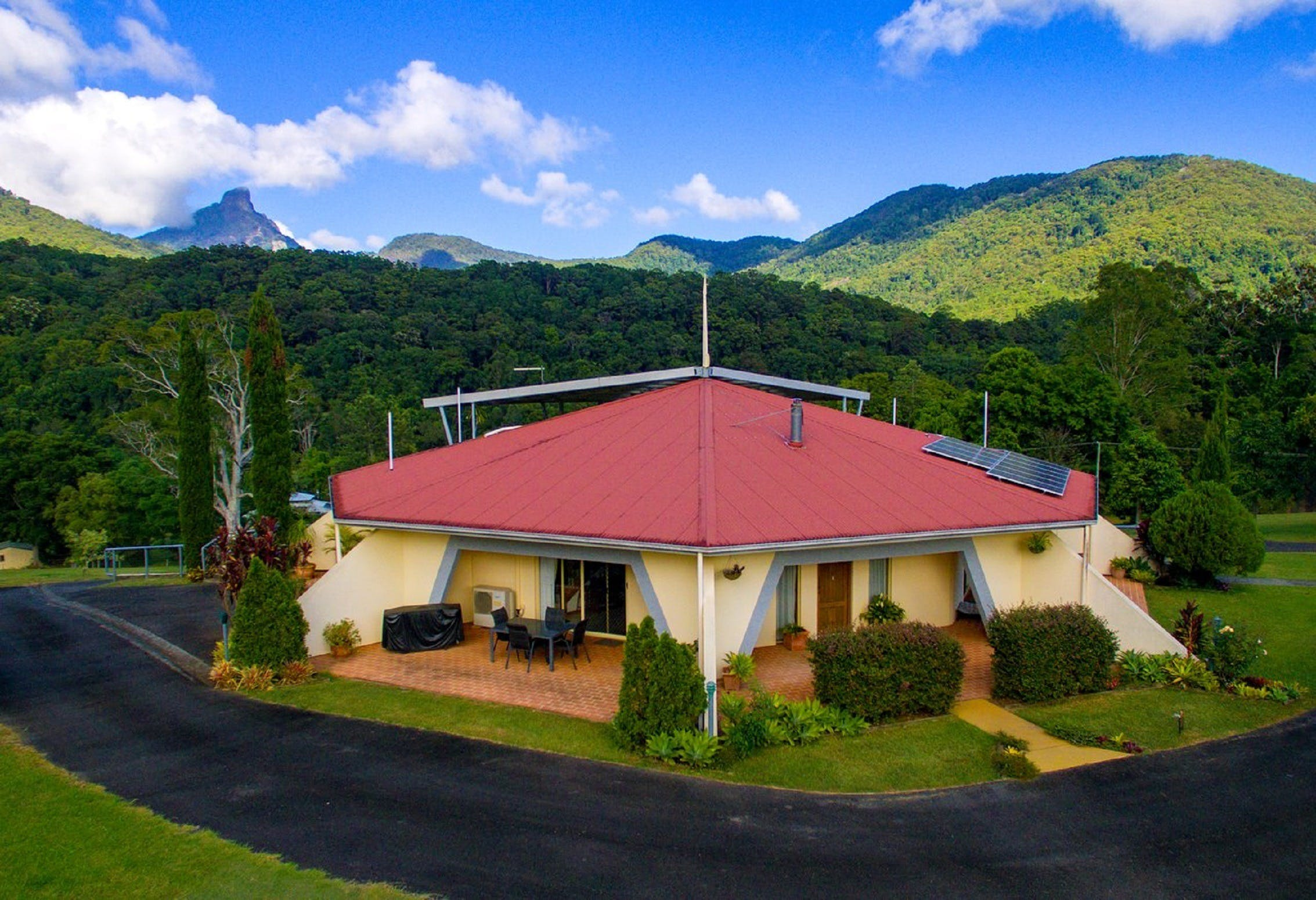 A View of Mount Warning Bed and Breakfast - St Kilda Accommodation