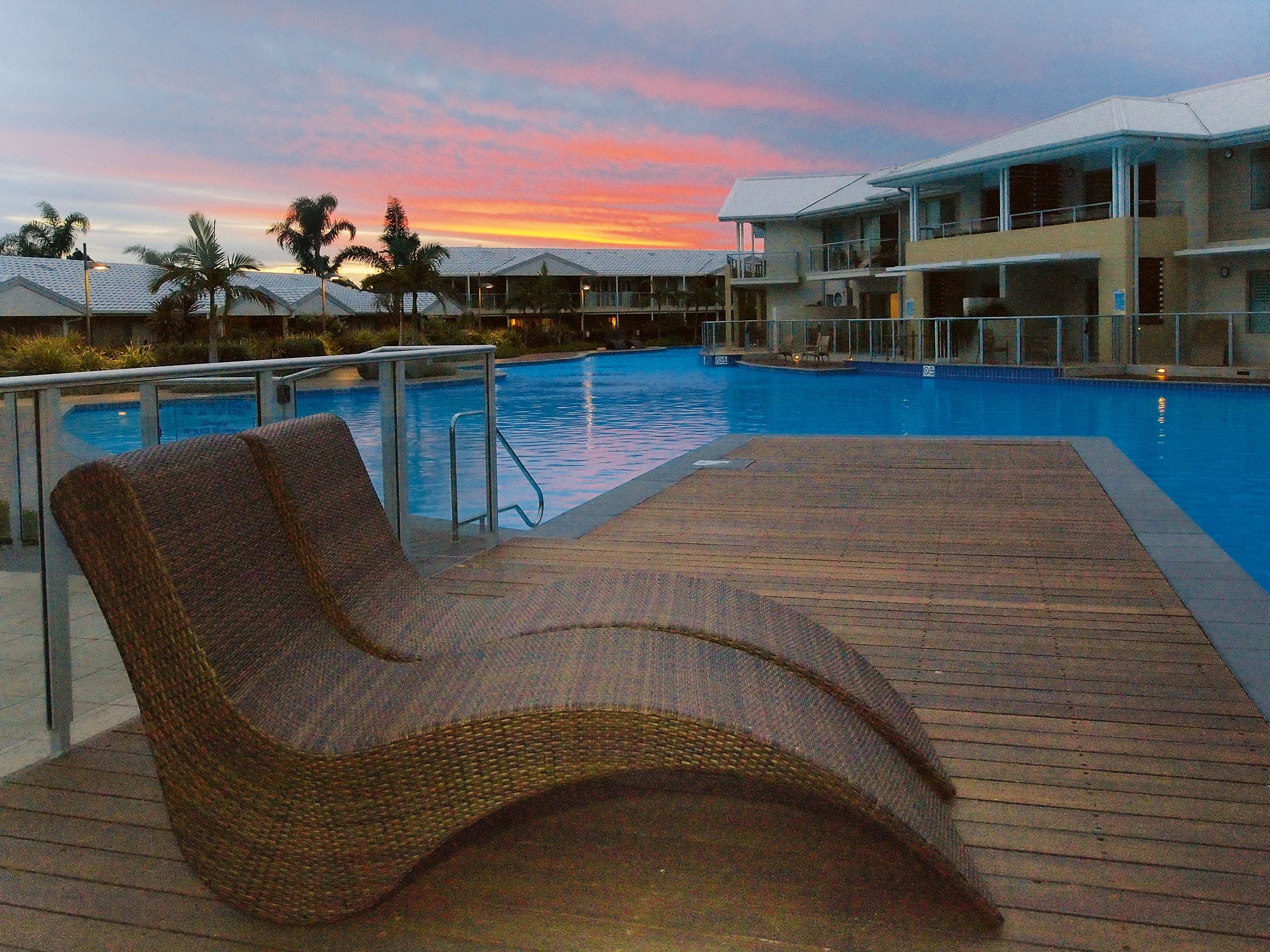 Oaks Port Stephens Pacific Blue Resort - St Kilda Accommodation