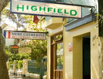 Highfield Private Hotel - St Kilda Accommodation