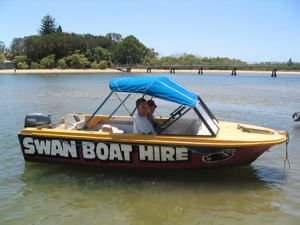 Swan Boat Hire - St Kilda Accommodation