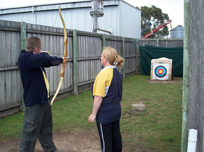 Bairnsdale Archery Mini Golf  Games Park - St Kilda Accommodation