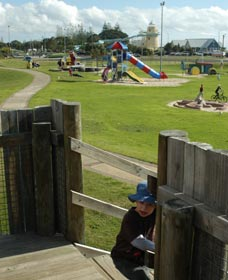 Yoganup Playground - St Kilda Accommodation
