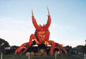 The Big Lobster - St Kilda Accommodation