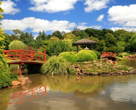 Japanese Gardens - St Kilda Accommodation