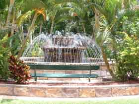 Bauer and Wiles Memorial Fountain - St Kilda Accommodation