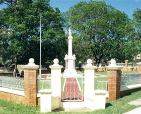 Boonah War Memorial and Memorial Park - St Kilda Accommodation
