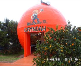 Gayndahs Big Orange - St Kilda Accommodation