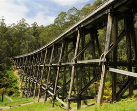 Noojee Trestle Bridge - St Kilda Accommodation