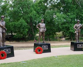 VC Memorial Park - Honouring Our Heroes - St Kilda Accommodation