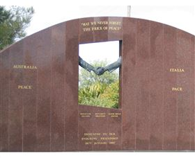 Cowra Italy Friendship Monument - St Kilda Accommodation