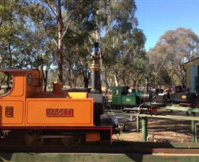 Mudgee Miniature Railway - St Kilda Accommodation