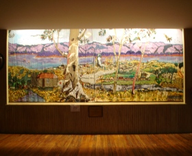 Adaminaby Memorial Hall Stage Curtain - St Kilda Accommodation