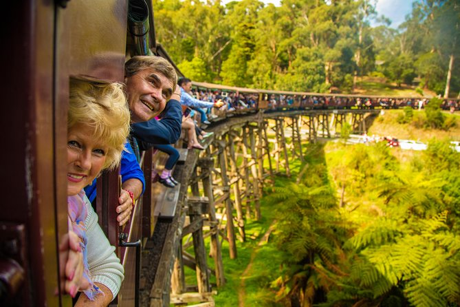 Puffing Billy Steam Train  Healesville Wildlife Sanctuary Tour From Melbourne - St Kilda Accommodation