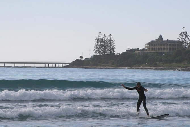 Learn to Surf at Lorne on the Great Ocean Road - St Kilda Accommodation
