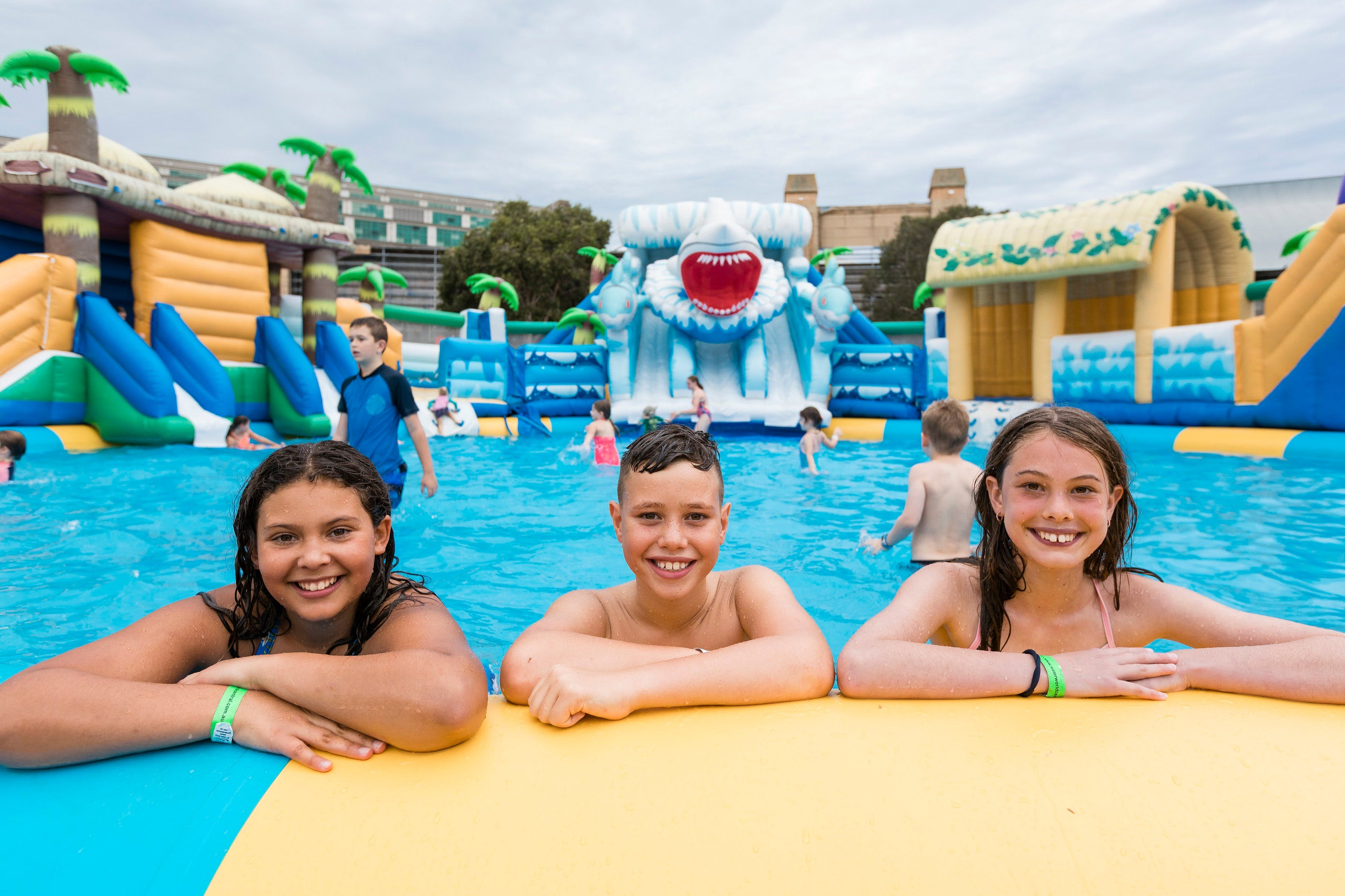 Waterworld Central - Mobile Inflatable Waterpark - St Kilda Accommodation
