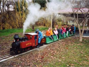 Holbrook Miniature Railway - St Kilda Accommodation