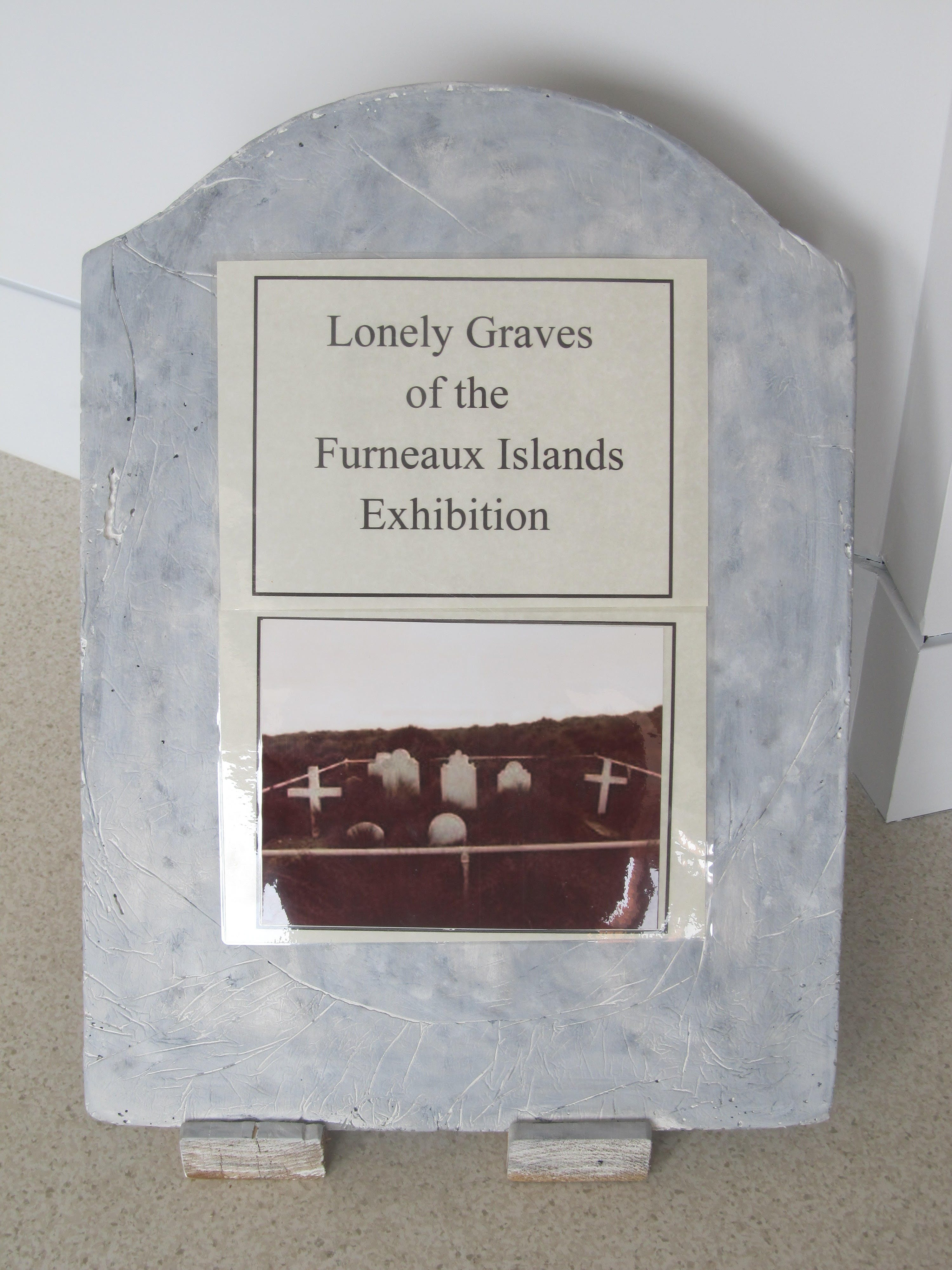 Lonely Graves of the Furneaux Islands Exhibition - St Kilda Accommodation
