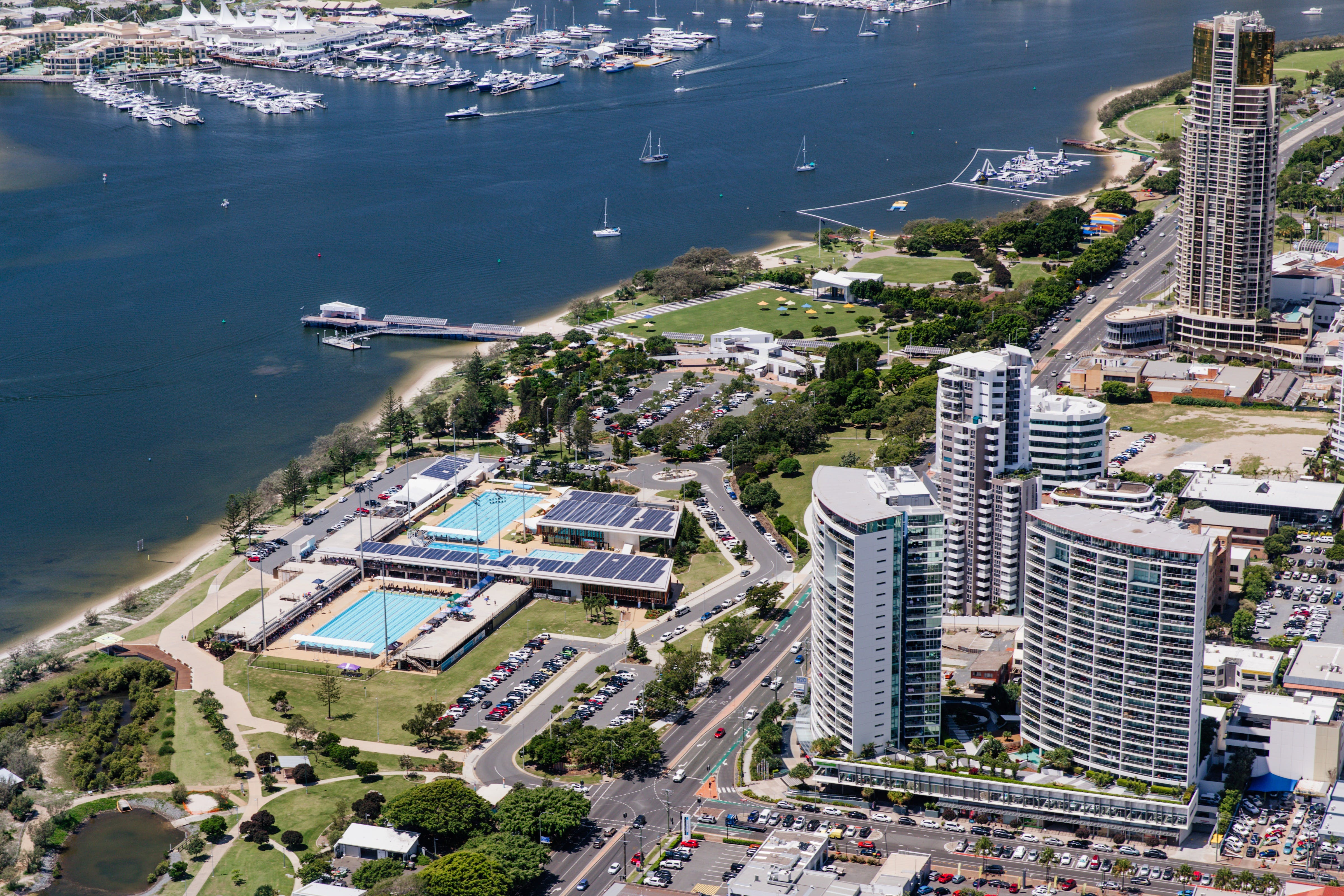 Gold Coast Aquatic Centre - St Kilda Accommodation