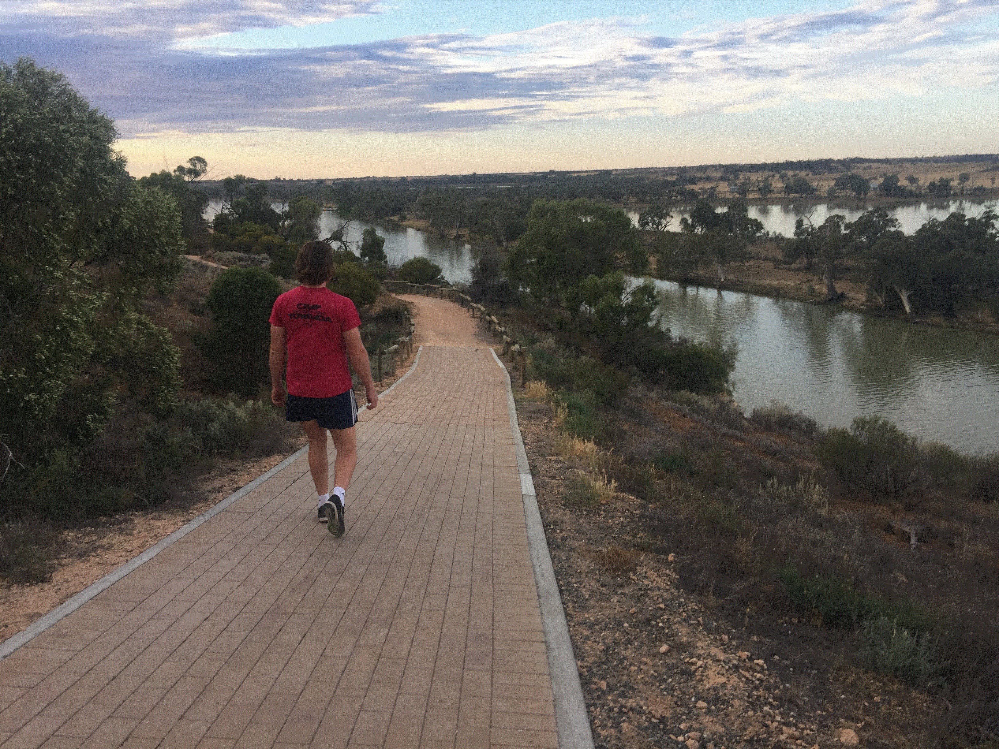 Waikerie Rotary Cliff Top Walk - St Kilda Accommodation