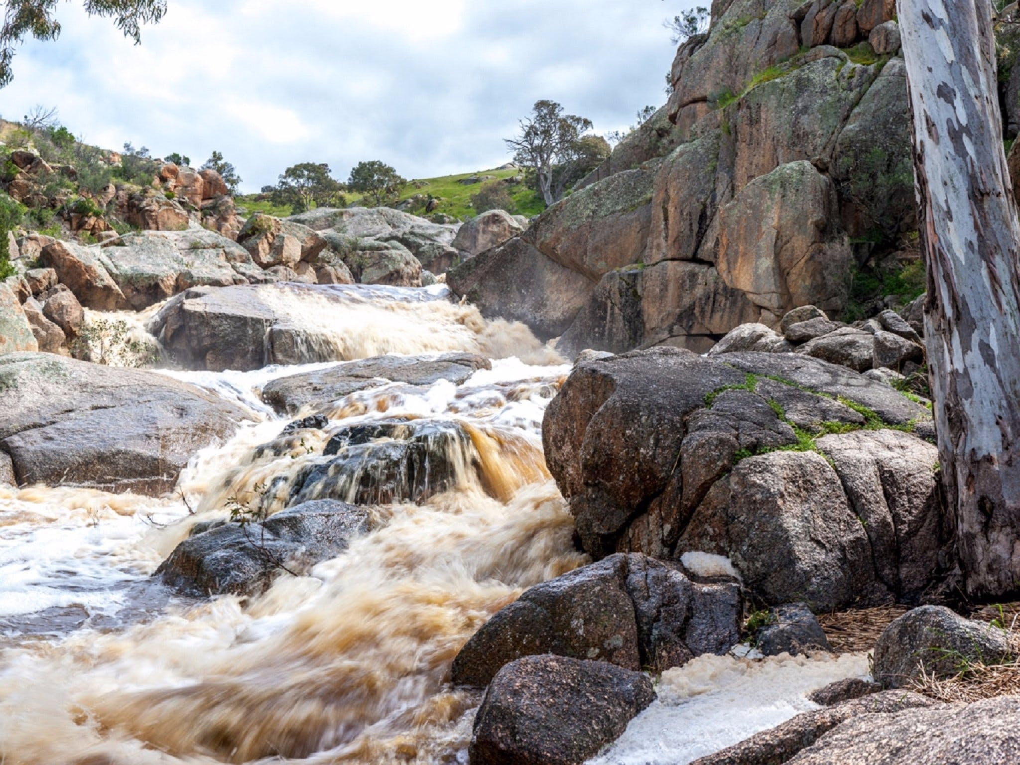 Mannum Waterfalls - St Kilda Accommodation