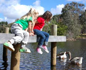 Vasse River and Rotary Park - St Kilda Accommodation