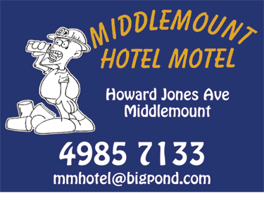 Middlemount Hotel Motel Accommodation - St Kilda Accommodation