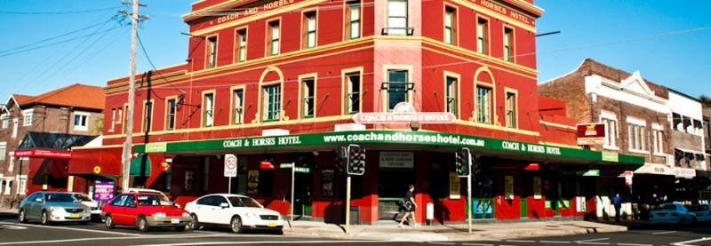 The Coach  Horses Hotel - St Kilda Accommodation