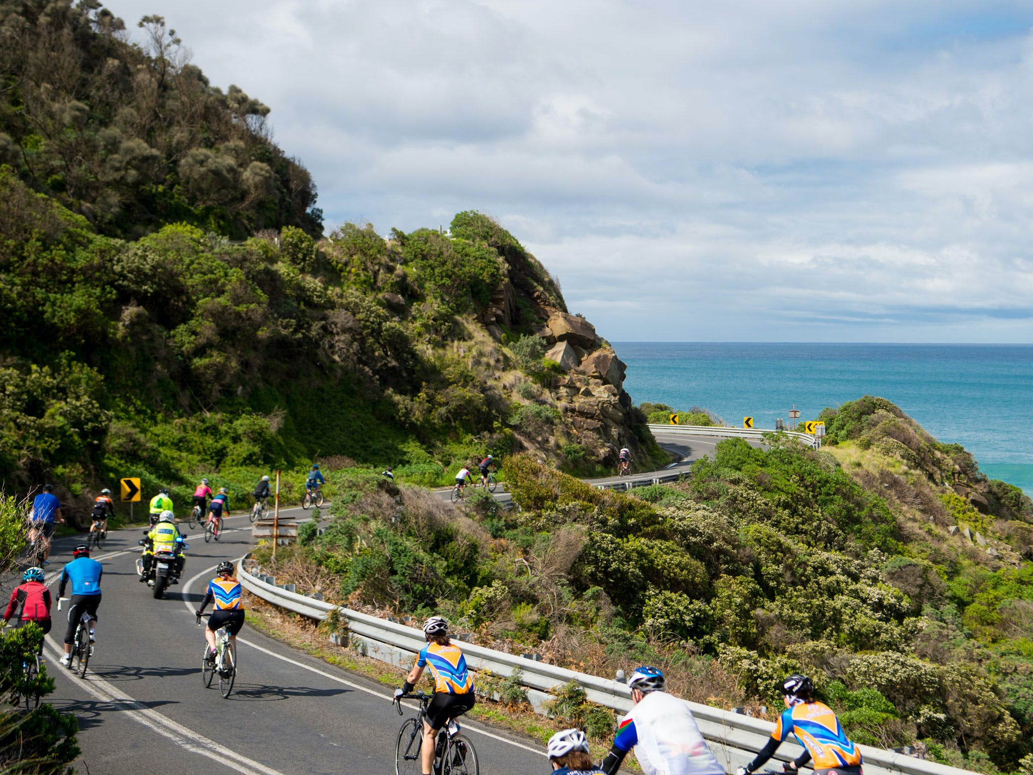 Amy's Great Ocean Road Gran Fondo - St Kilda Accommodation