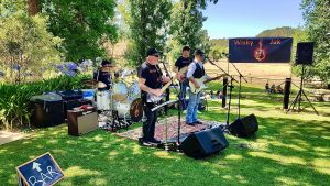 Angas Plains Wines Live in the Vines with the band -Wisky Jak - St Kilda Accommodation