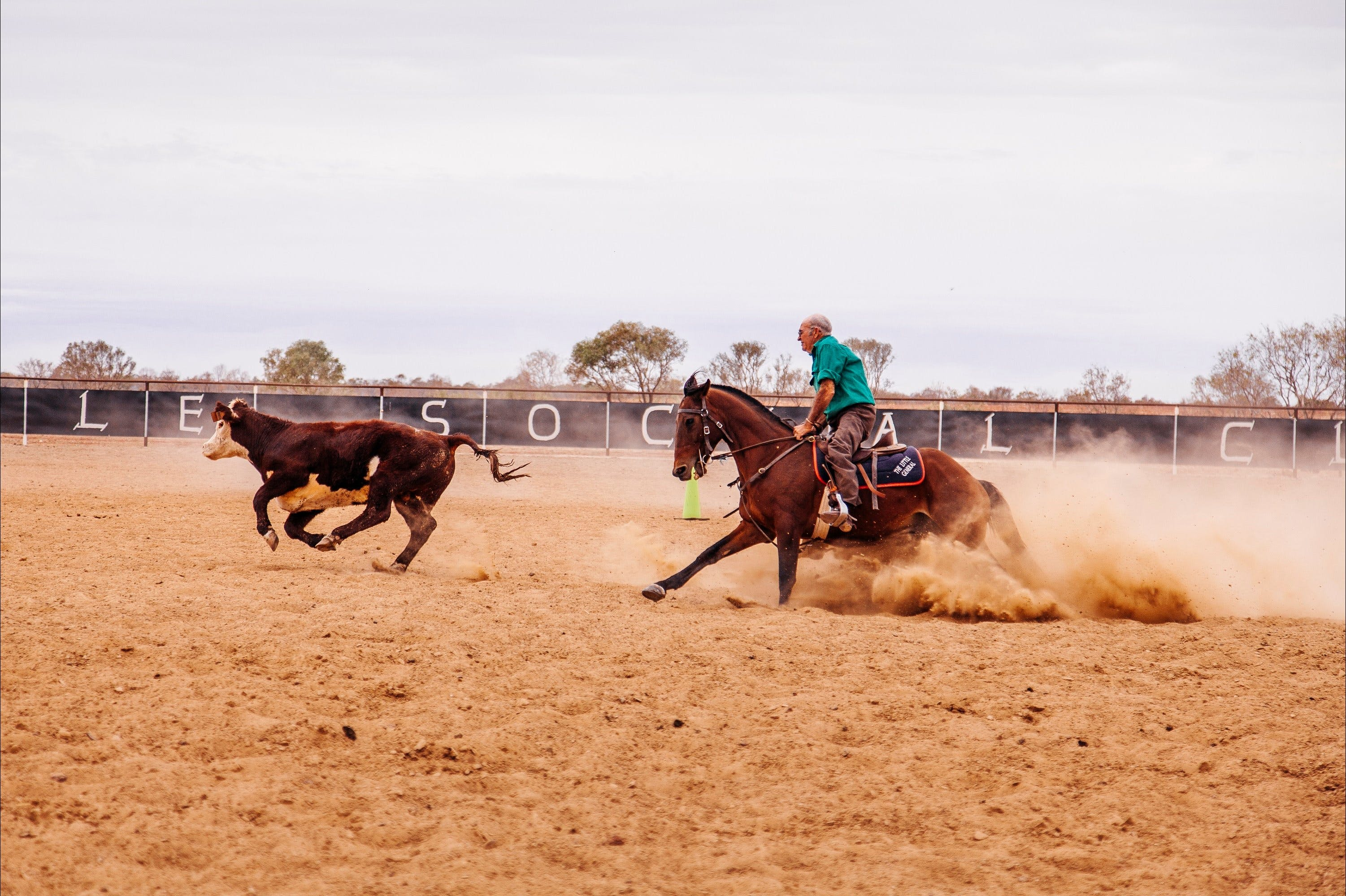 Birdsville Campdraft  Rodeo and Bronco Branding - St Kilda Accommodation