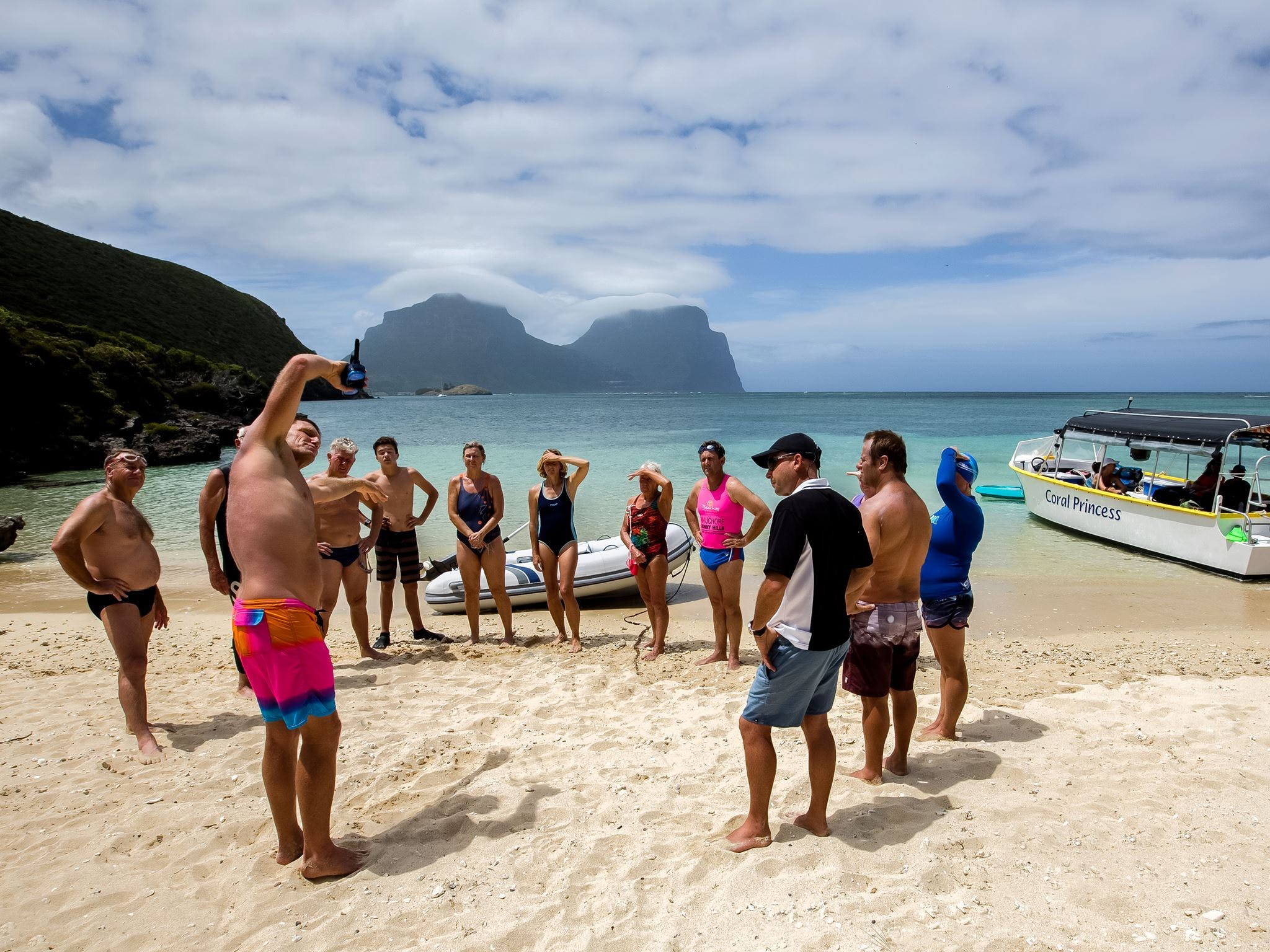 Ocean Swim Week with Trevor Hendy Pinetrees Lord Howe Island - St Kilda Accommodation