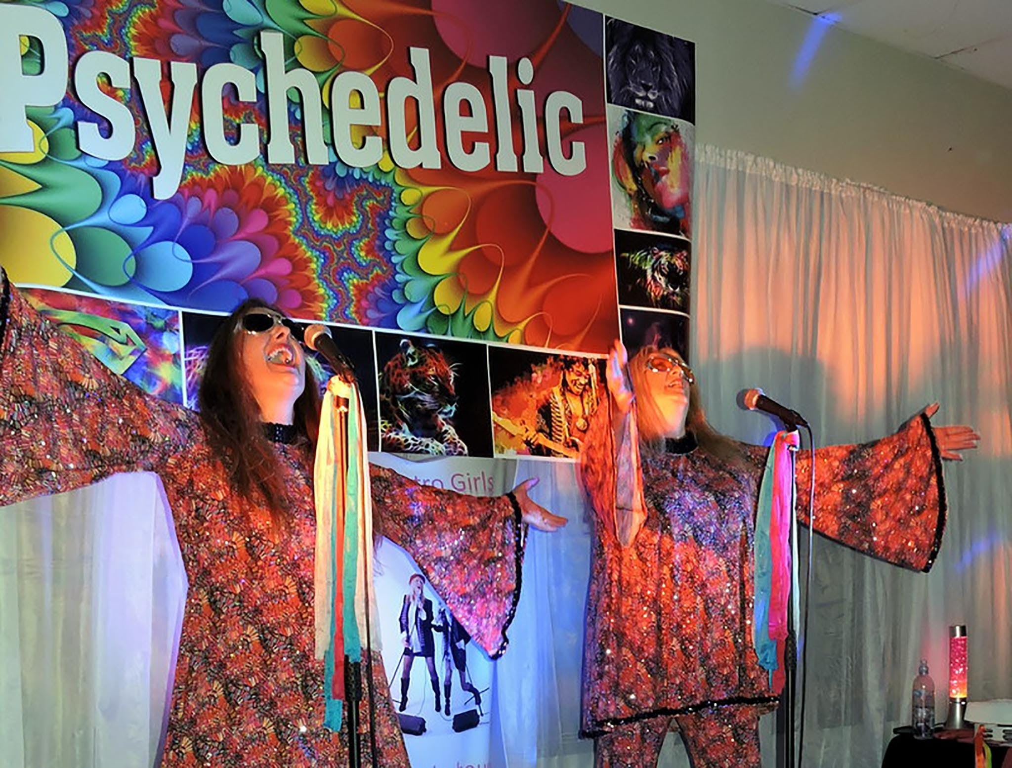 Psychedelic 70s Show The Retro Girls - St Kilda Accommodation