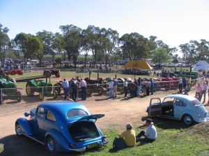 Quirindi Rural Heritage Village - Vintage Machinery and Miniature Railway Rally and Swap Meet - St Kilda Accommodation