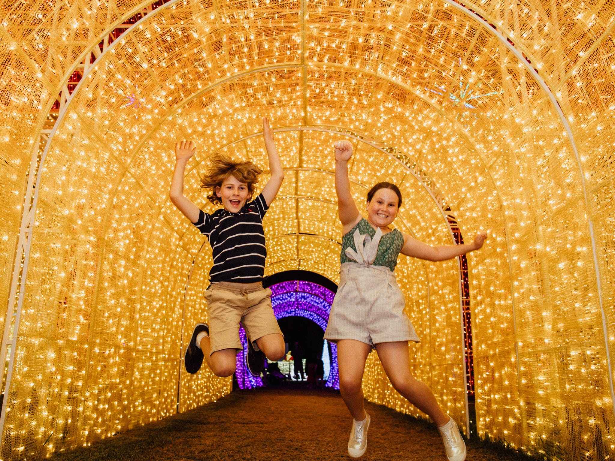 Christmas Lights Spectacular New Year's Eve at Hunter Valley Gardens - St Kilda Accommodation
