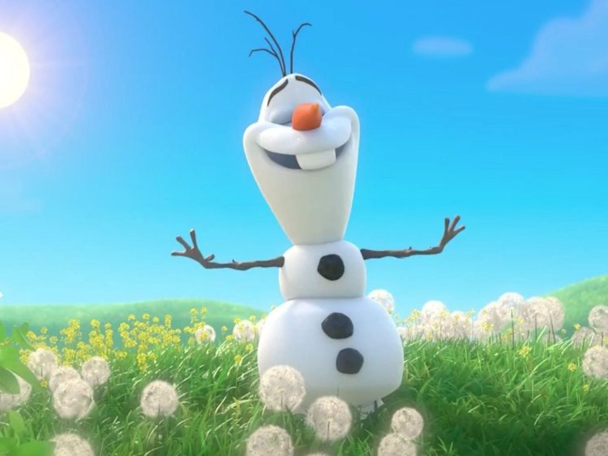 Meet Olaf from Frozen - St Kilda Accommodation