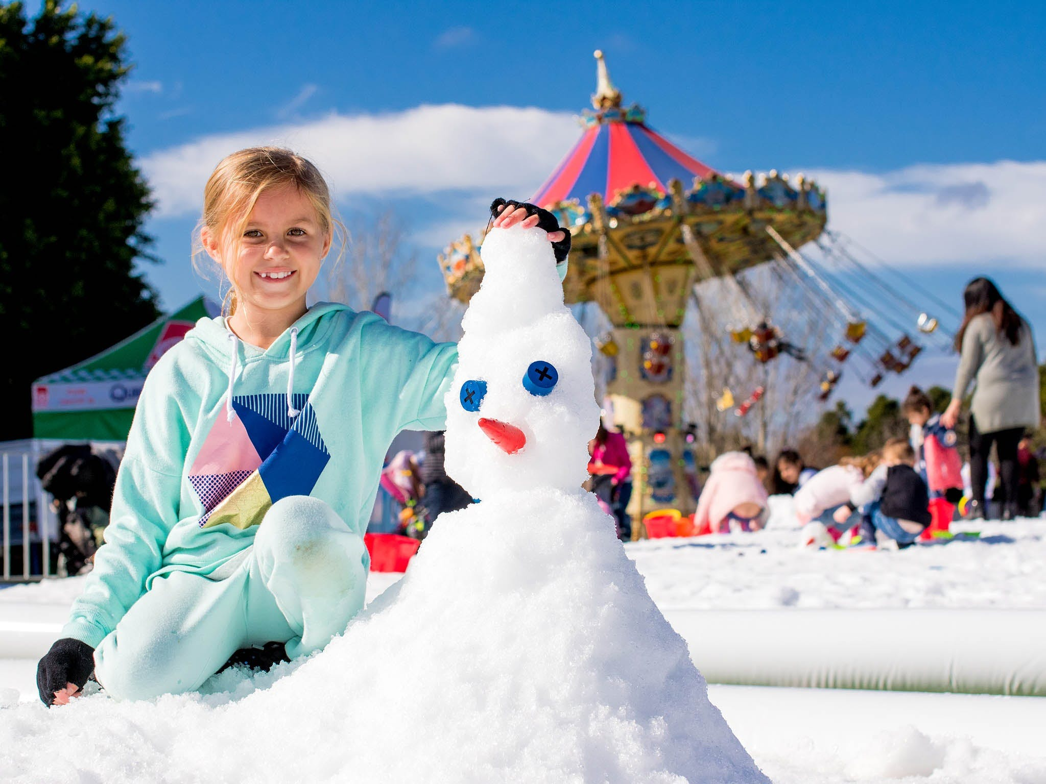 Snow Time in the Garden - Hunter Valley Gardens - Cancelled - St Kilda Accommodation