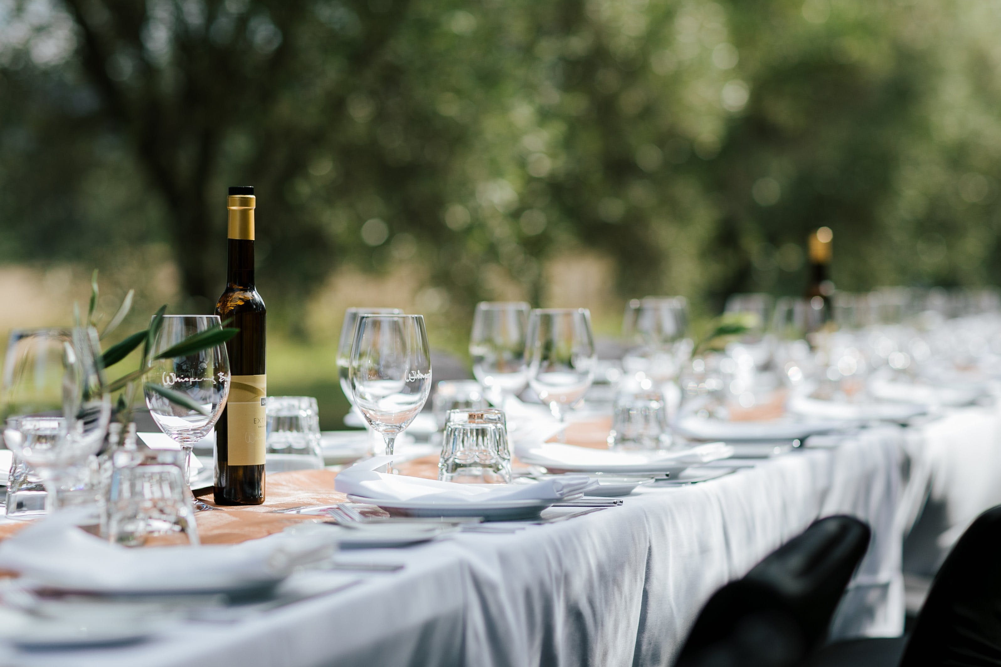 Whispering Brook Olive Long Table Luncheon - St Kilda Accommodation