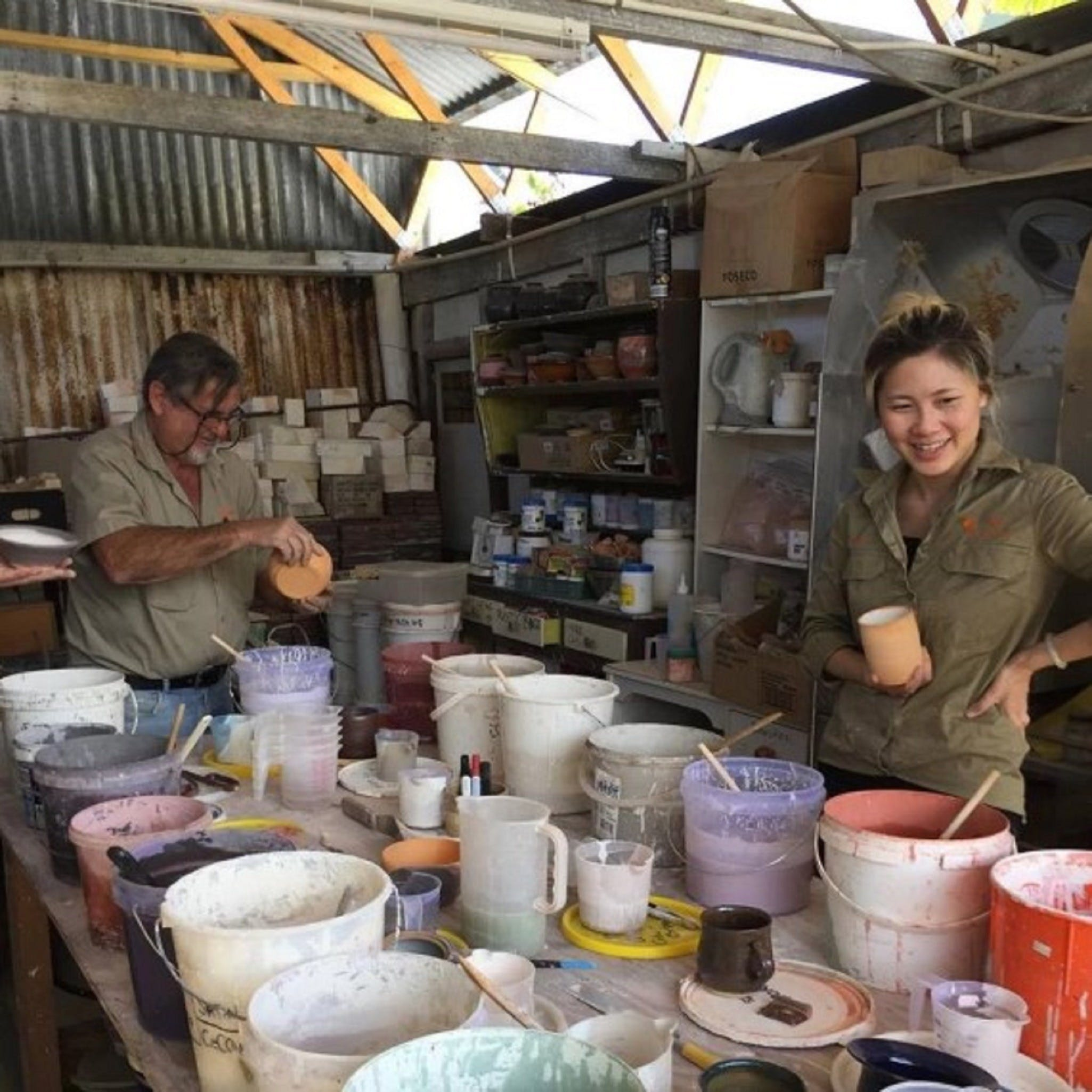 Introductory Pottery Glazing Class - St Kilda Accommodation