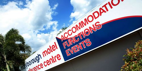 Maryborough Motel  Conference Centre - St Kilda Accommodation